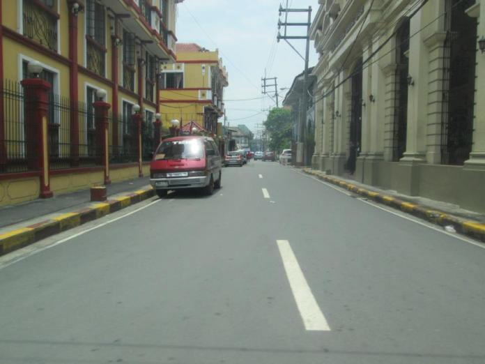 The streets of Intramuros