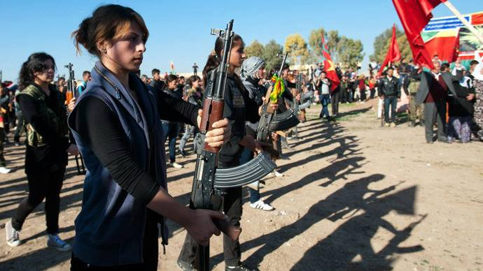 Neither Assad, nor NATO: Kurdish women lead the way!