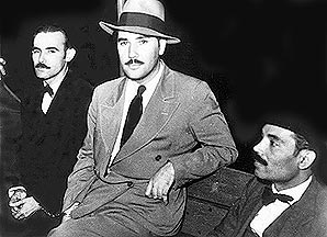 Clemente Soto Velez, Juan Antonio Corretjer, and Pedro Albizu Campos, at the time when Corretjer was a leader in the Nationalist Party.