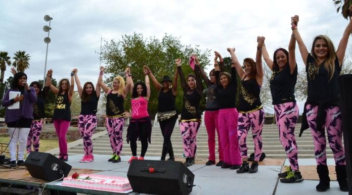 """""""Un Toque Femenino"""" event in Ciudad Juarez, Mexico."""