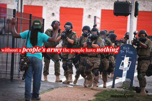 Without a People's Army the People Have Nothing